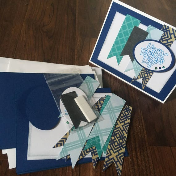 DIY Card Making Kit, Father's Day, Dad, Grandfather's Day