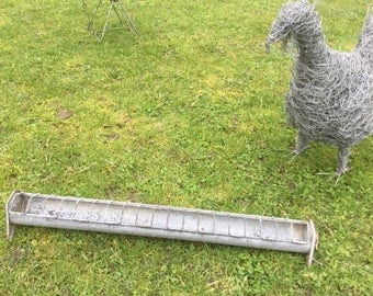 Vintage French Chicken feeder