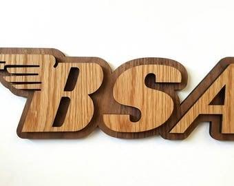 BSA Fan Wall Art