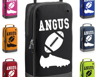 Personalised Rugby Boot Bag with Carry Handle  * Free Delivery * New Design for 2017