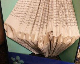 Daughter ... Folded Book Art