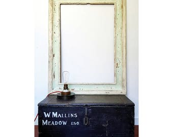 French antique wooden Frame, suitable for mirror, Beautiful natural patina | Old Wooden French Frame, perfect as a mirror