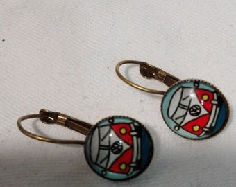 VW Bulli earrings for lovers of the wonderful cult car