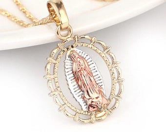 Holy Miss Mary!! **GOLD PLATED** Necklace