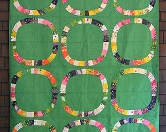 Sleeping Porch Free Wheeling Single Girl Quilt Kit- Heather Ross- Cotton Lawn- Windham Fabrics