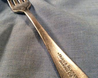 Horn & Hardart Baking Co Automat Restaurant Fork Silver Plated 1940s/50s