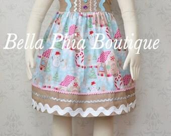 Girls Gingerbread Dress