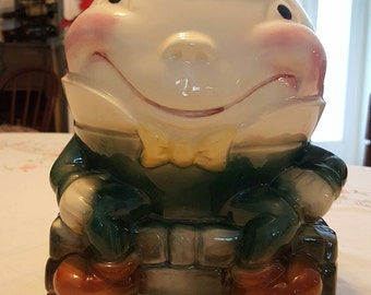Brush Humpty Dumpty Collector Cookie Jar