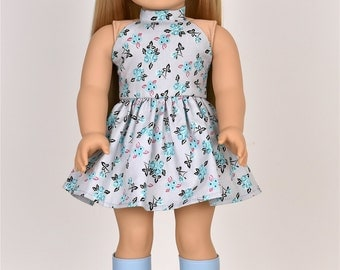 """18 inch doll dress """"Halter Top"""" Doll clothes"""
