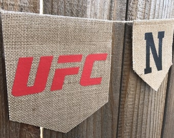 UFC fight night banner