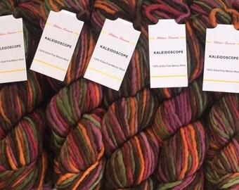 Filatura Lanarota Kaleidoscope #11 Autumn Harvest - 7.99 +.75ea Shipping - Knit or Felt - Hand Spun Extra Fine Merino Wool - Worsted