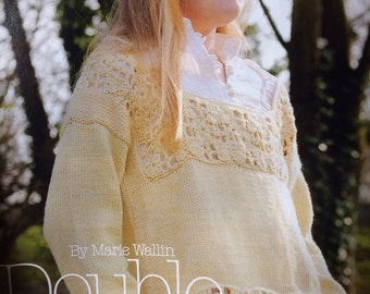 Girls Crochet and Knit Top - Crochet ,Knitting Pattern