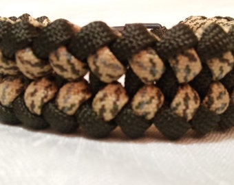 Baby Sanctified Paracord Bracelet (finished product)