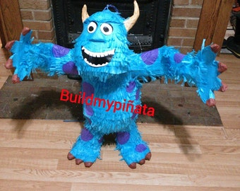 """Monsters Inc. pinata( sulley), 3D, 26"""" tall."""