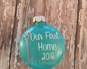 Key ornament etsy for First apartment ornament