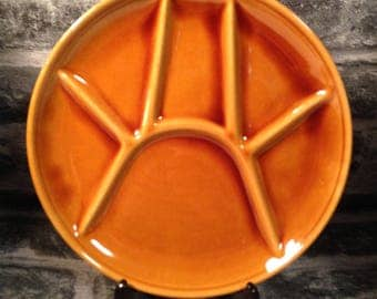vintage French raclette / fondue plate