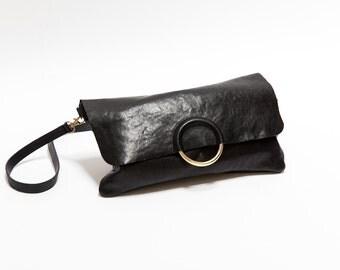 London Bag. Crossbody leather bag