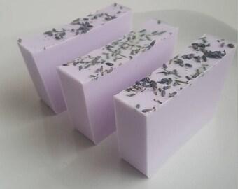 Lavender Shea Butter Soap, Glycerin Soap, Lavender Soap, Homemade Soap, Shea Butter Soap