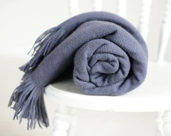 lavender blanket, periwinkle blanket, liberty blanket, blue throw blanket, periwinkle throw, blue wool blanket, lavender throw