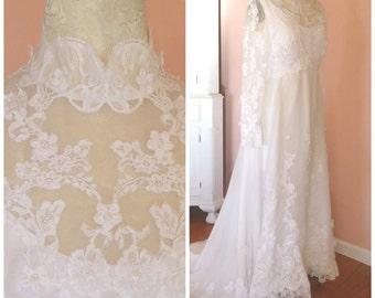 Hippie wedding dress | Etsy