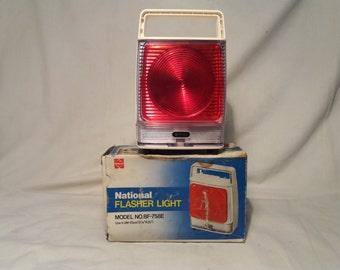 Vintage Flasher Light.Brand:NATIONAL - JAPAN. NEW.