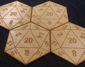 Natural20 Coasters