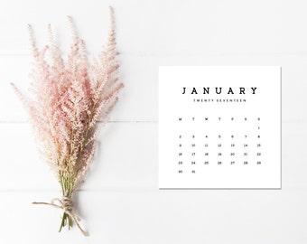2017 Classic Calendar full year