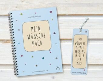 MY wishes book - notebook