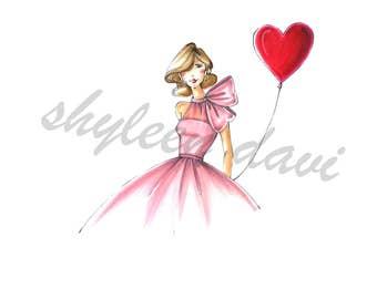 Pink Bows & Hearts