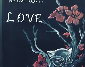 Owl we need ia love