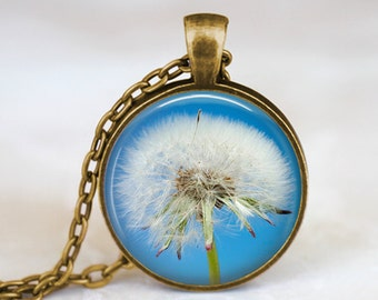 Dandelion Flower - Nature Handmade Pendant Necklace