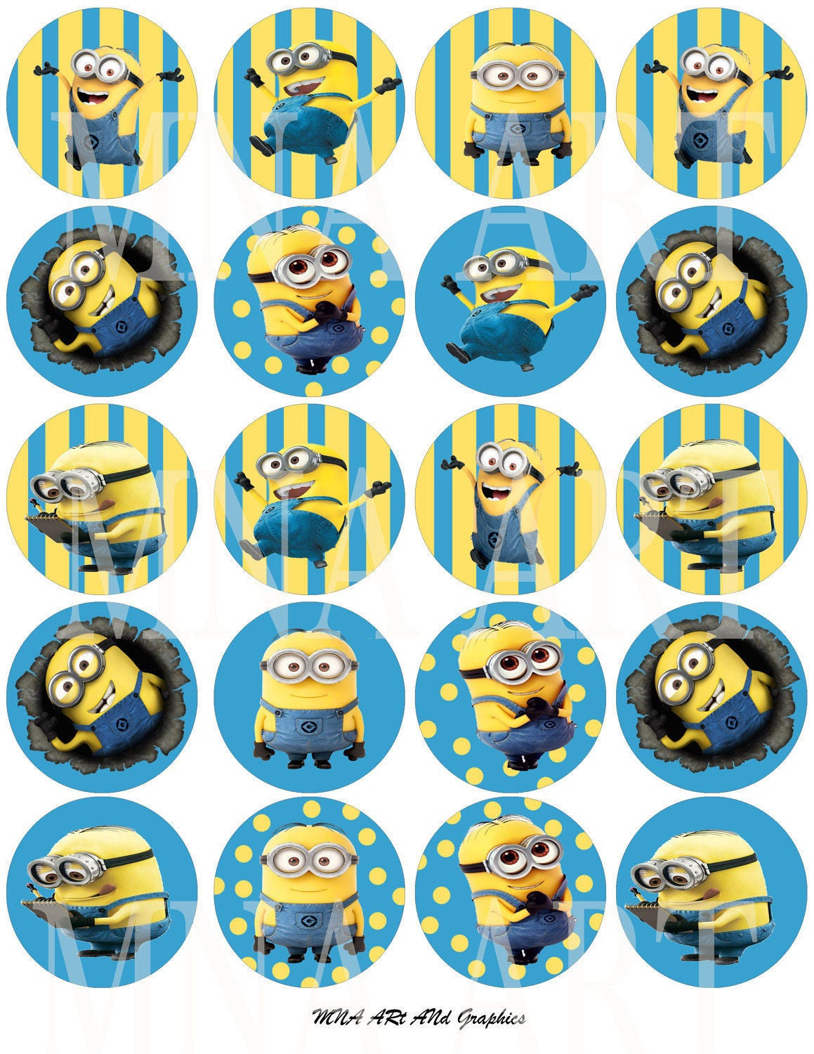 Last Saturday we finally celebrated our daughter's 6th birthday with a Despicable Me Minion theme. It was a whirlwind day of fun, food and games with 13 little Minion friends! I only had about 2 weeks to plan and execute, so almost all of the decorations were easy DIY projects thanks to all of.
