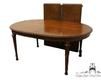 DREXEL HERITAGE Estorada Southwestern Style 104u2033 Oval Dining Table 457 335
