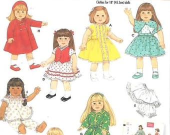 18 Inch Doll Clothes Patterns, New Simpicity Pattern 4347
