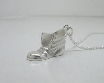 Amulett aus Sterling Silber Boot