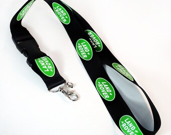 LANDROVER LAND ROVER lanyard Strap neck Key Chain Polyester High Quality 22 inch by 1 inch