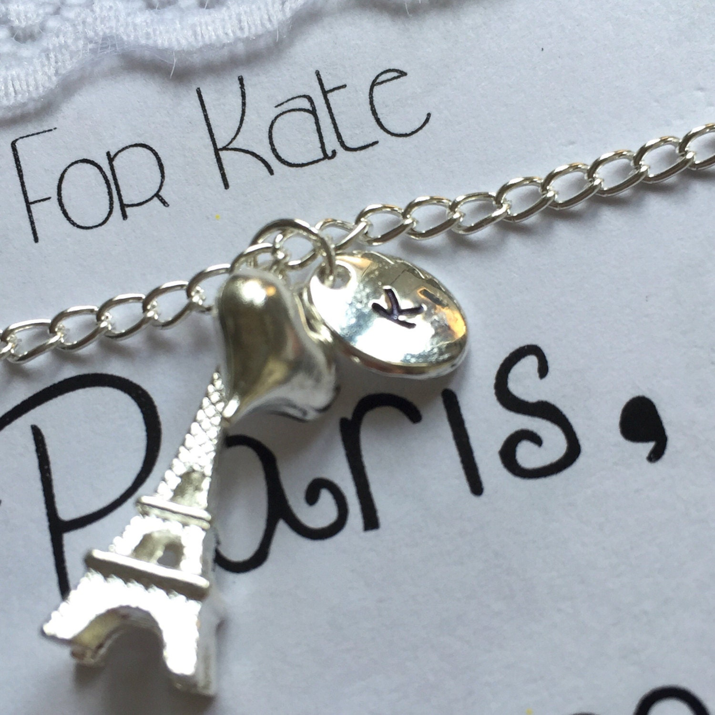 Paris Gift, Paris Charm Bracelet, Paris Jewelry, Paris Theme, Paris Bracelet,  Paris Charm, Eiffel Tower Charm, Paris Invitation