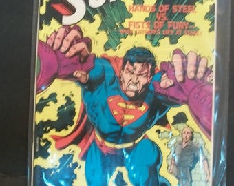 1986 Superman Annual #12  Superman and Lex Luthor Team Up VG-VF Condition  Vintage Comic Book