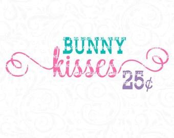bunny kisses svg, girl easter svg, easter svg, easter svg files, bunny svg, Easter svg, easter svg files, easter dxf, svg easter
