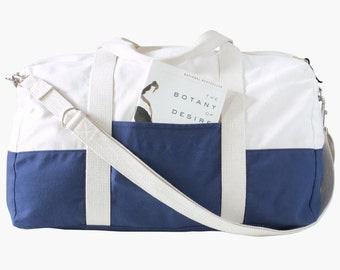 Portside Travel Set-Grainline Studio-Travel Set-Duffle Bag-Dopp Kit-Luggage-Overnight Bag-Sewing Pattern-Paper Pattern