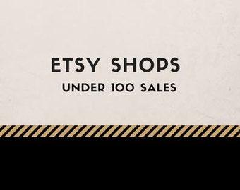 Etsy Hilfe Etsy shop unter 100, Vertriebsunterstützung, Online-Hilfe