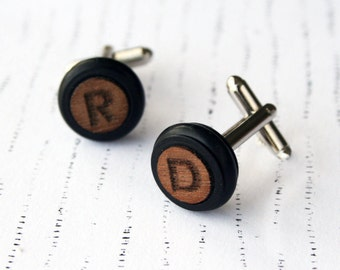 Frank Cufflinks | Personalised Cufflinks | Modern Geometric Style | Father day | Gift For Him | Men Collection | Groomsmen Gift