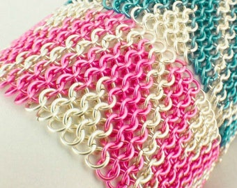 Chevron Bracelet Tutorial - Zig Zag European 4 in 1 - Expert PDF Instructions