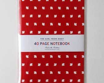 Maple Leaf Notebook