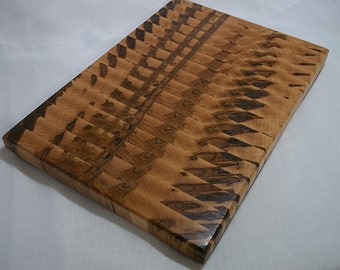 Beautiful Ambrosia Maple End Grain Cutting Board