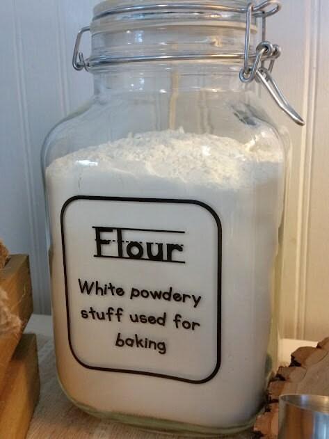flour canister hermetic jar air tight jar kitchen. Black Bedroom Furniture Sets. Home Design Ideas