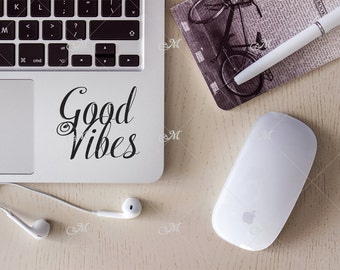 Macbook, Laptop styled Photo Mockup. Top vew. PSD + JPG