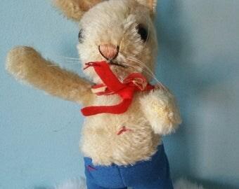 STEIFF bunny! Rare vintage plush bunny Steiff  1970s