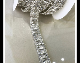 5 Yards, Wholesale Rhinestone Trim  #0190