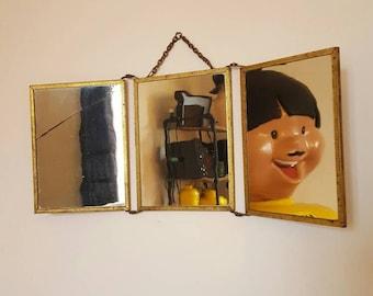 Barber triptych mirror